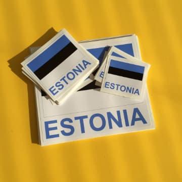 Eesti lipuga kleepsud